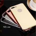Luxury Aluminum Ultra-thin Mirror Metal Case Cover for iPhone 7 / 7 Plus