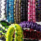 Paracord Bracelets 3/8 Inch Side Release Buckle Multiple Styles /Sizes to Choose