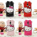 HelloKitty With Diamond Silicone Soft Back Case Cover For Samsung Galaxy Note 3
