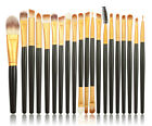 20 Pieces Professional Makeup Brush Kit Cosmetic Make Up Beauty Eye Face Brushes