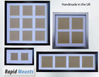 Square Multi Aperture Picture Frame & Double Mounts. Various Styles 4x4,5x5,6x6