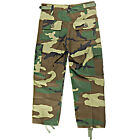 Kids  Military BDU Pants Woodland Camo - FAST Free Shipping