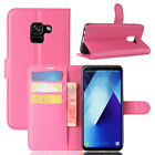 Samsung Galaxy A5 2017 &amp; A8 2018 Pouch Flip Cover Wallet PU Leather Phone Case  <br/> **High Qulity**Same Day Shipping**Trusted Seller**