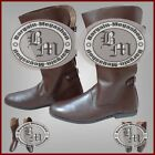 Medieval Leather Boots Role Play Re-enactment Costume Boot Mens Fashion Shoes