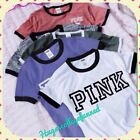 Summer Women Casual Short Sleeve Loose T-shirt Letter Print Graphic Tee Tops