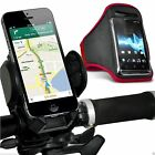 Quality Bike Bicycle Handlebar Phone Holder+Sports Armband Case Cover✔Red, used for sale  Shipping to South Africa