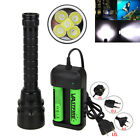 Внешний вид - 20000Lm XM-L T6 LED Scuba Diving Flashlight Torch 18650 lamp Waterproof 100m