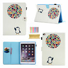"For iPad Pro 10.5""/9.7"" 2017 FashionPattern Wallet Flip Leather Smart Case Cover"