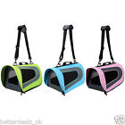 Dog Cat Pet Carriers Soft-Sided Puppy Travel Carriers Foldable Shoulder Bags New