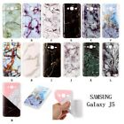 Fashion Marble Granite Pattern Soft TPU Phone Case Cover For Samsung Galaxy J5