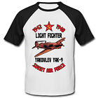 YAKOVLEV YAK-9 SOVIET AIR FORCE - NEW COTTON BASEBALL TSHIRT