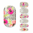 12 Nagelfolien Nail Wraps Aufkleber Nagel Wrap Sticker Full cover nailart NEU