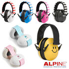 BABY & CHILDRENS Ear Defenders ALPINE MUFFY Earmuffs Hearing Protection + BAG