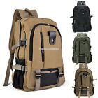 New Military Vintage Canvas Rucksack Backpack Hiking Camping Travel Bag FV8801