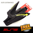 Elite Custom Race Water Bottle Cage Bike Black-Yellow Fluo