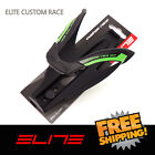 Elite Custom Race Water Bottle Cage Bike - Black Fluo Green