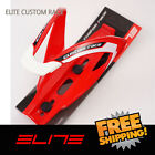 Elite Custom Race Water Bottle Cage Bike - Red White