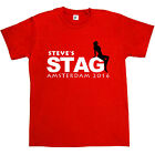 Sexy Lady Personalised Stag Do Stag Night Mens T-Shirt Custom Party