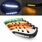 "7/8"" Dirt Bike Dirtbike ATV Motorcycle Brush Bar Hand Guards Handguard Led Light"