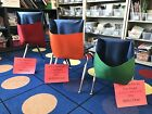 """ONE SIZE FIT ALL CHAIRS 16"""" Wide Or Smaller DENIM Chair Pocket Seat Sack K-5th"""