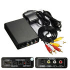 HDMI To 3RCA AV CVBS Composite S-Video R/L Audio Video Converter Adapter 1080P..