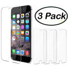 3 New Anti-Scratch Tempered Glass Screen Protector Film Apple iPhone 6 6s 7 Plus
