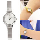 WELL Women's Watch Bracelet Stainless Steel Crystal Dial Quartz Wrist Watches