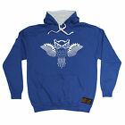 Owl Made up Of Bike Parts RLTW HOODIE hoody cycling cycle bicycle birthday gift