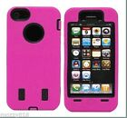 Hybrid Rugged 2 Layer Hard/Soft silicone Back Case Cover For iPhone 5/5s/SE