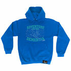 Adventure Before Dementia Ski Graphic Powder Monkeez UK HOODIE hoody skiing