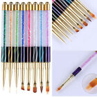 Nail Art UV Gel Liner Painting Gradient Brush Art Pens Nail Art Tools