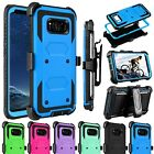 Outer Box Hybrid Stand Holster Clip Case Cover for Samsung Galaxy S8 Plus