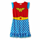 NEW Wonder Woman Girls Nightgown Pajama Size Medium or Large Superhero DC Comics