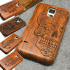Handmade Natural Real Bamboo Wooden Phone Case Cover for Samsung Galaxy S5/S6/S7