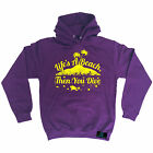 Life's A Beach Then You Open Water HOODIE hoody birthday gift scuba diving