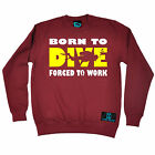 Born To Dive Forced To Work Open Water SWEATSHIRT jumper birthday gift diving
