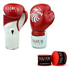 Pro Boxing Gloves & Hand Wraps 4oz-16oz Punch Bag Sparring Fight MMA Muay Thai