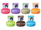 1-10x GENUINE GATSBY MOVING RUBBER JAPANESE HAIR WAX 80g Pink, Purple, Grey Tubs