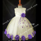 MFIPP7 Baby Infants Wedding Evening Holiday Communion Pageant Formal Gown Dress