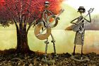 Heavy Metal Band Figure Made From Recycled Metal, Nuts & Bolts Various Designs