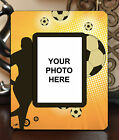 "3.5""x5"" PHOTO FRAME - SOCCER 2 Athlete Ball Game Team Coach Sports Goal Gift"