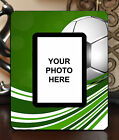 "3.5""x5"" PHOTO FRAME - SOCCER 5 Athlete Ball Game Team Coach Sports Goal Gift"