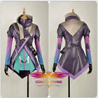 Game OW Overwatch Cosplay Costume Hacker Sombra Nanosuit Clothing Custom