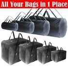Luggage Travel Duffle Bag Maletin Roll Bag 30, 50, 70, 100 Lb Black Lightweight