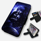 DARTH VADER GALAXY STAR WARS FLIP PHONE CASE COVER WALLET FAUX LEATHER £9.95 GBP