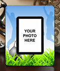"3.5""x5"" PHOTO FRAME - SOCCER 10 Athlete Ball Game Team Coach Sports Goal Gift"