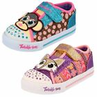 Girls Skechers Trainers - Critter Buds