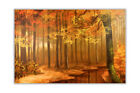 Beautiful Autumn Forest Oil Painting Re-print Wall Decoration Artwork