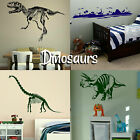 Dinosaur Wall Stickers! Transfer Prehistoric Graphic Decal Decor Dino Stencils