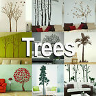 Tree Wall Stickers! Giant Home Transfer Graphics / Forest Decal Decor Stencil